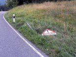 Wattwil SG - Volvo-Fahrer nach Selbstunfall abgehauen