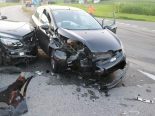 Appenzell - Heftiger Unfall fordert vier Verletzte