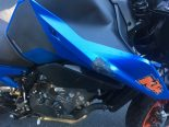 Unfall Obstalden GL - Motorradfahrerin crasht in Stützmauer