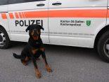 """Eggersriet SG - Polizeihund """"Yodi"""" knöpft sich Einbrecher vor"""