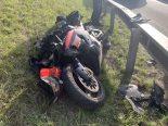 Effretikon ZH - Motorradfahrer auf der Autobahn A1 verunfallt