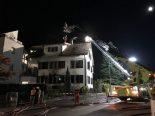Brand in Hinwil - Mehrere hunderttausend Franken Sachschaden