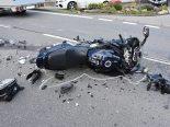 Lungern OW - Motorradfahrer nach Unfall erheblich verletzt