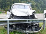 Werthenstein LU - Vier Verletzte bei schwerem Verkehrsunfall