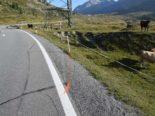 Unfall in Pontresina GR - Motorradfahrer nach heftigem Sturz verletzt