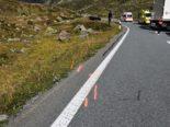 Davos GR - Motorrad-Selbstunfall fordert Verletzte