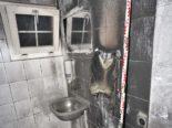 Glarus GL - Toilette in Brand geraten