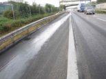 A1, Oberbuchsiten SO - Düngeflüssigkeit aus Tankwagen geflossen