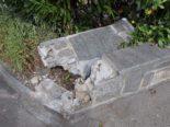 Zuchwil SO - In Gartenmauer geprallt und von Unfallstelle entfernt