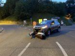 Neuhausen am Rheinfall SH - Frontalkollision zwischen Auto und Motorroller