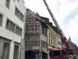 Stein am Rhein SH - Rauchentwicklungin in einer Dachwohnung