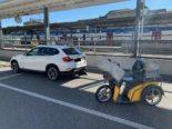 Auffahrunfall Schaffhausen - Elektro-Dreirad-Fahrer (21) gegen PW-Heck geprallt