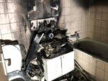 Füllinsdorf BL - Neun Verletzte nach Brand durch Kerze