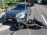 Trogen AR - Motorradlenker bei Selbstunfall verletzt