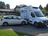 Verkehrsunfall Speicher AR - Mit vorbeifahrendem Lieferwagen kollidiert