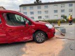 Muttenz BL - Unfall mit vier Fahrzeugen fordert zwei Verletzte