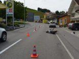 Heiden AR - 16-jähriger Kleinmotorradlenker bei Auffahrunfall verletzt