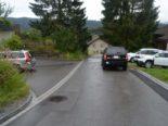 Gais AR - Unfall beim Rückwärts ausparkieren