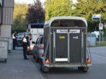 Herisau AR - Viehtransporte kontrolliert