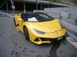 Göschenen UR - Teurer Selbstunfall mit Lamborghini