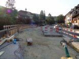 Bubendorf BL - Bauarbeiten an der Hauptstrasse