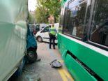 Unfall Basel BS - Mehrere Verletzte und Strassensperre