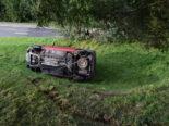 Reute AR - Auto überschlagen: Lenker erheblich verletzt