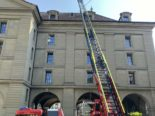 Bern BE - Feuerwehreinsatz am Kornhausplatz