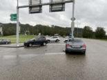 Rheinfelden AG - Bei Unfall mehreren Fahrzeugen kollidiert
