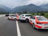 Martinach VS - Autodiebe (19, 21) auf A9 verhaftet