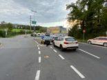 Verkehrsunfal Baar ZG - Beim Autobahnende Kontrolle über Fahrzeug verloren
