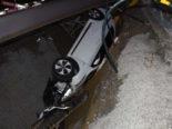 Mörschwil SG - Unfall durch Sekundenschlaf: In Baugrube gestürzt