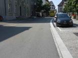Rapperswil-Jona SG - Mit E-Bike auf der Rathausstrasse verunfallt