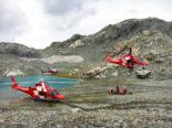 Zürich-Flughafen ZH - Drei Schwerverletzte von REGA gerettet