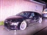 Ricken SG - Fahrunfähiger 21-Jähriger verursacht Selbstunfall