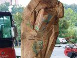 Luzern - Holzskulptur gestohlen