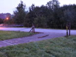Stein SG - Bei Unfall fast 60 Meter Zaun beschädigt
