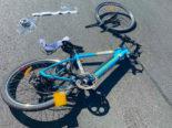 Posieux FR - Schwerer Unfall zwischen Radfahrer und Autolenker