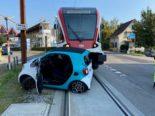 Seon AG - Unfall zwischen Auto und Zug der Seetalbahn