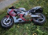 Waltenschwil AG - Motorradfahrer nach Überholmanöver (33) im Spital