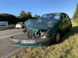 Kölliken AG - Unfall A1: Crash zwischen drei Autos