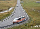 Silvaplana GR - Bei Motorradunfall über Leitplanke geschleudert