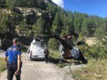 Zermatt VS - Helikopter beim Landeanflug verunfallt