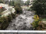 Kanton Wallis - Mehrere Erdrutsche, Felsstürze und Überschwemmungen