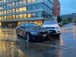 St.Gallen SG - Verkehrsunfall auf der Rorschacher Strasse