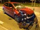 Beromünster LU - Heftiger Crash zwischen drei Autos