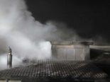 Islikon TG - Dachstock von Einfamilienhaus in Brand