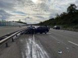 Spreitenbach AG - Schwerverletzter bei Selbstunfall auf A1