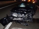 Unfall A3 / Höhe Brugg AG - Alkoholisierter Raser (29) kollidiert mit Tesla