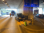 Aarburg AG: Heftiger Unfall im Festungstunnel
